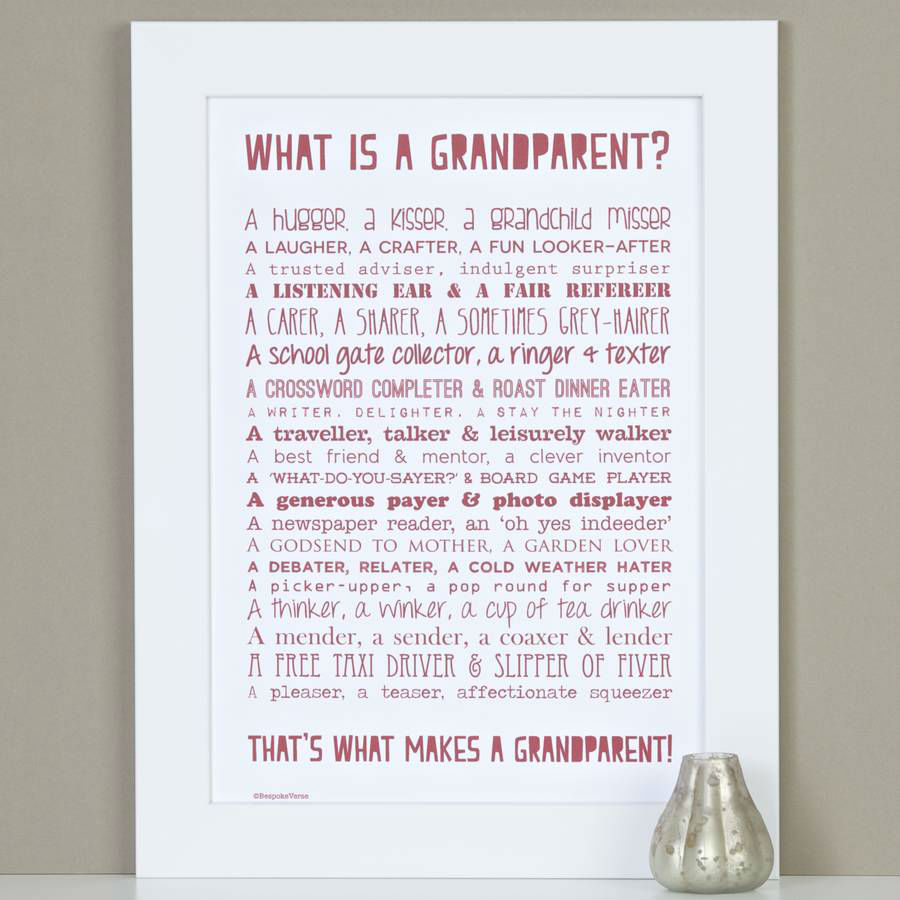 Grandparents day poem.